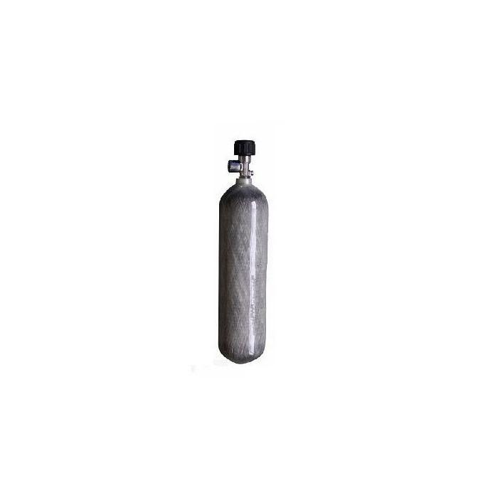 Karbonová Tlaková Lahev 3l/300bar, s ventilem